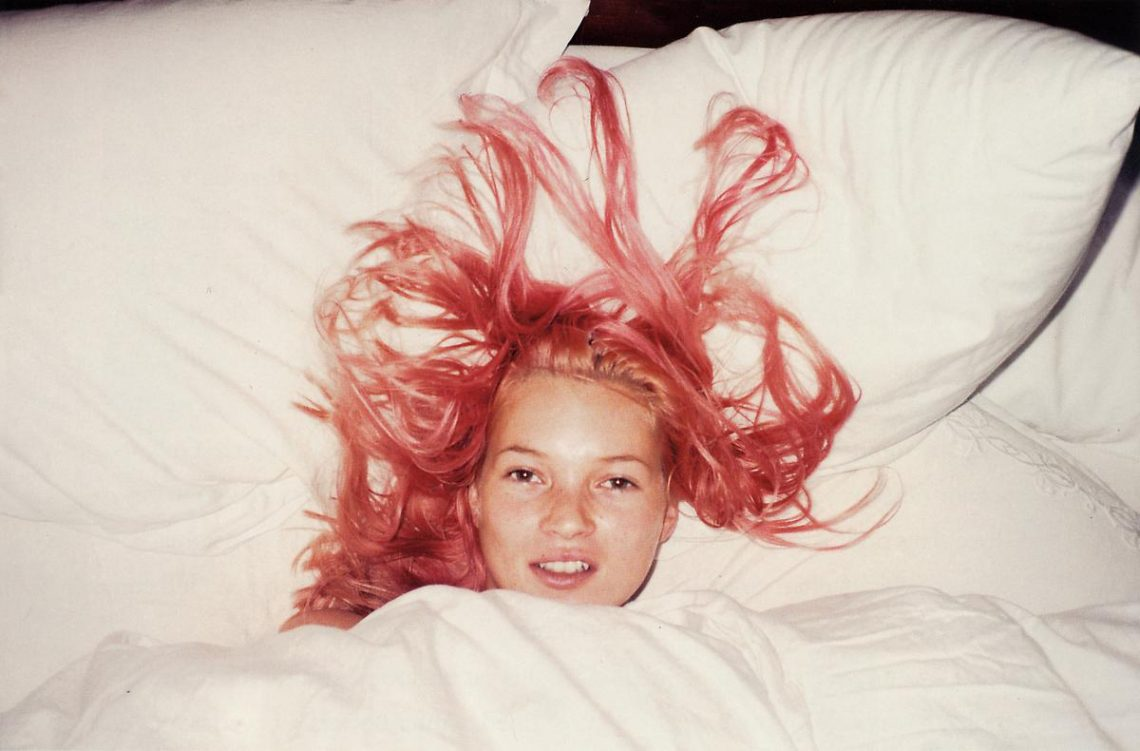 Kate Moss Juergen Teller 20 Pink Hair Lola Who Fashion Music Photography blog