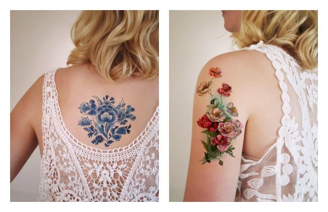 Tattooary flower tattoos 10 Lola Who Music Fashion Photography blog