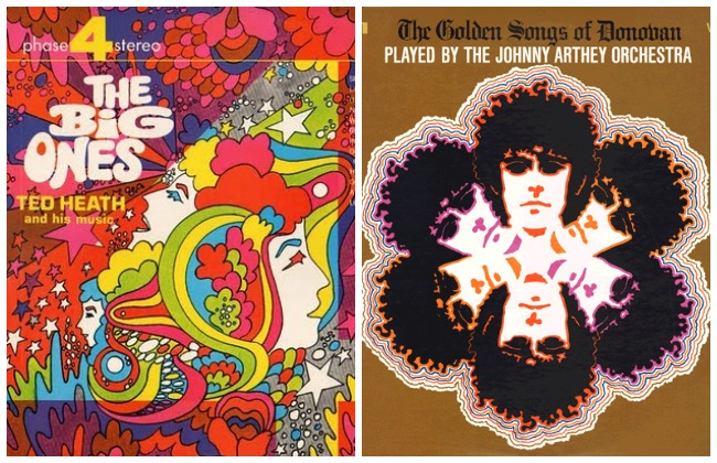 psychedelic pop art album covers 110 Lola Who fashion music photography blog