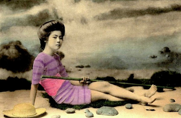 vintage photo geisha bathing suit Lola Who Fashion Music Photography blog 3