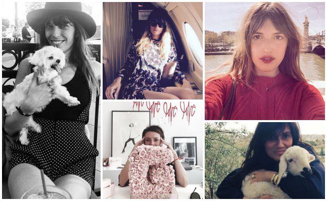 Parisian girls on Instagram Lola Who Fashion Music Photography blog