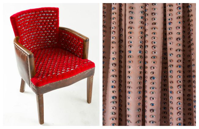 Fiona Roberts eyeball chair intimate vestiges Lola Who Fashion Music Photography blog