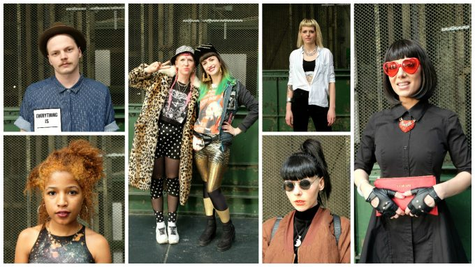 Berlin Alternative Fashion Week Street Style Lola Who Fashion Music Photography blog