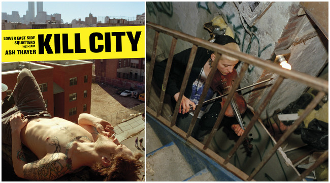 Kill City by Ash Thayer - Life As a Resident of See Skwat in New York in the 90s Lola Who Fashion Music Photography blog 100