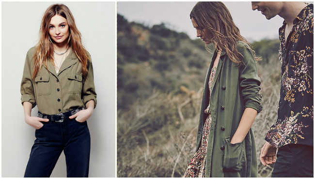Free People Military Trend Fashion Lola Who Fashion Music Photography blog 20