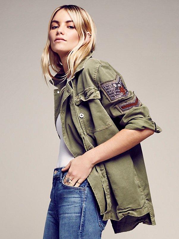 Free People Military Trend Fashion Lola Who Fashion Music Photography blog 3