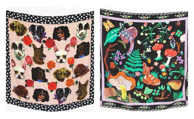 Nathalie Lete Silk Scarves 6 Lola Who Fashion Blog feature